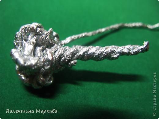Мастер-класс Поделка изделие Плетение Паучок в серебряной паутине  мастер-класс по просьбе Фольга фото 17