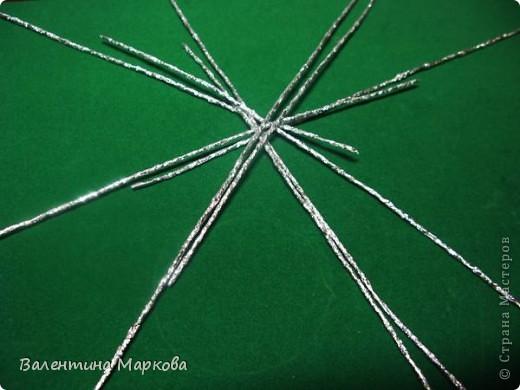 Мастер-класс Поделка изделие Плетение Паучок в серебряной паутине  мастер-класс по просьбе Фольга фото 24