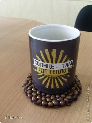 Подставка под кружку для любителей кофе) фото 1
