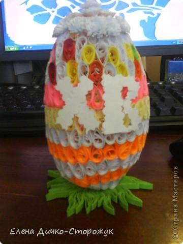 Яйцо получилось большое. Ну точно не куриное фото 1