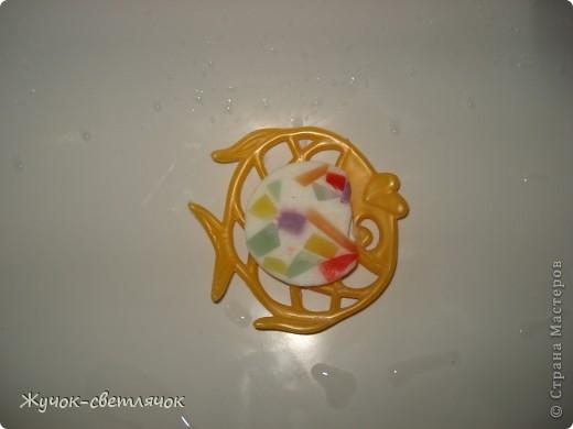Мыло из детского с цветными вставочками. фото 3