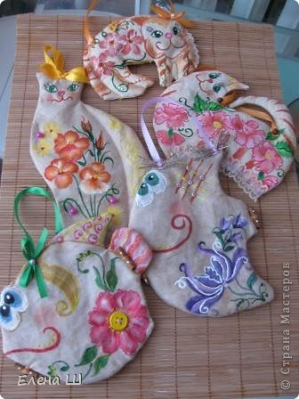 Вот такие красотки появились у меня перед праздником. Идея взята вот здесь http://podarki.gallery.ru/watch?ph=3Wk-bMYnz   фото 1