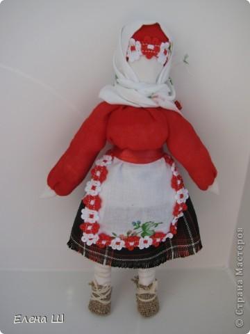 """Обе куколки имеют одно название """"Рябинка"""", только разный процесс изготовления фото 2"""