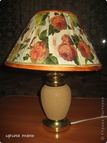 древний светильник приобрел новую жизнь