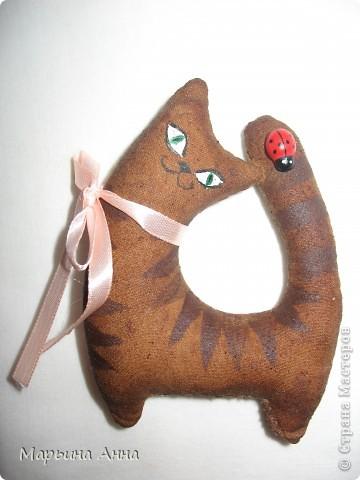 Давайте познакомимся. Я - кошка Мурка из чердачной компании. Родилась утром из корицы, ванилина и кофе, а к вечеру у меня появились друзья. фото 1