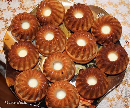 Кексы с медом и сгущенкой