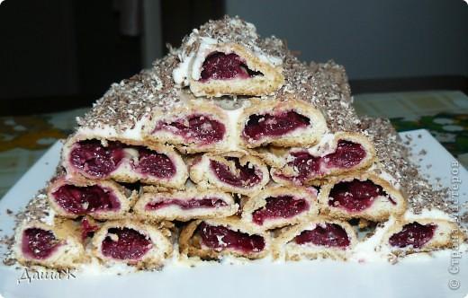 """Пекла как-то тортик """"Монастырская изба""""-рецепт из инета. фото 1"""