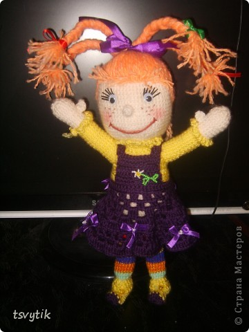 Виолка кукла к Дню Святого Валентина! фото 1