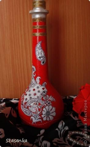 Бутылочка в восточном стиле фото 3