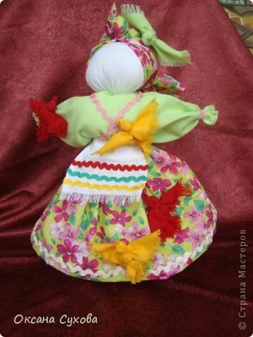 Птица-Радость - кукла, которую делали для закликания весны в начале марта. фото 1