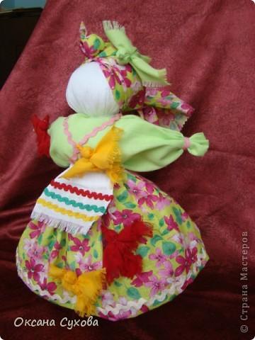Птица-Радость - кукла, которую делали для закликания весны в начале марта. фото 2