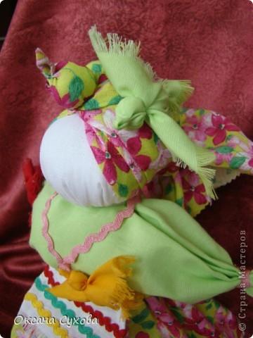 Птица-Радость - кукла, которую делали для закликания весны в начале марта. фото 3