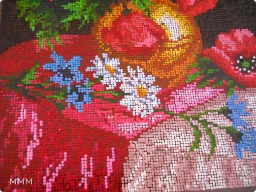 картина выполнена точками акриловыми красками ,примерно 18 000 точек. фото 2