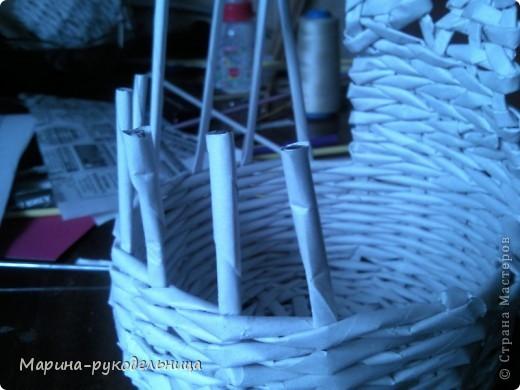 Мой пасхальный кролик смотрит лицом в корзинку, а мы будем делать лицом от корзинки, вообщем, вариантов много. фото 5