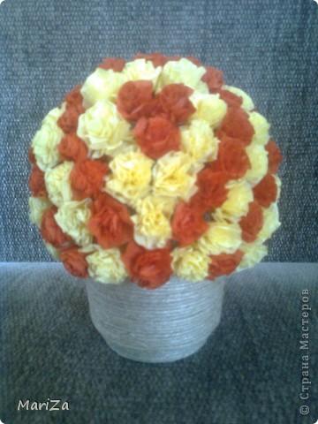 Цветочный шар для мамочки фото 2