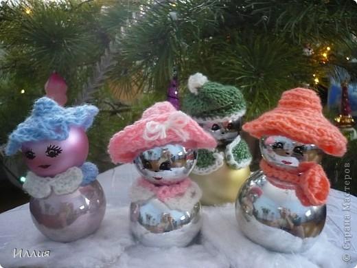 Вот таких снегурочек сделала в подарок своим подружкам фото 1