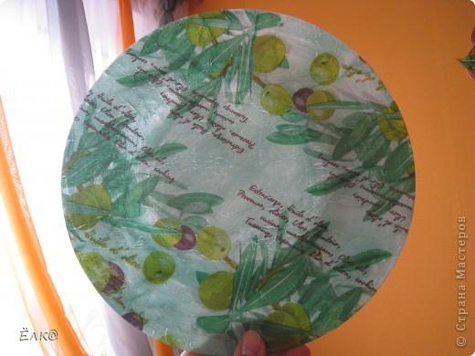 """Вот такая """"оливковая"""" тарелочка. фото 7"""
