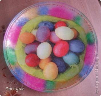 Пасхальная тарелочка фото 1
