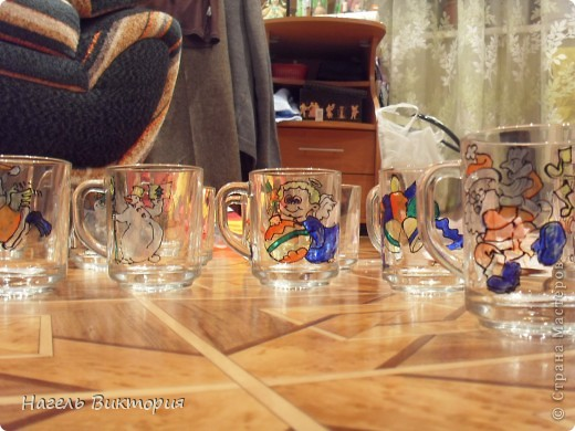 Новогодние стаканчики фото 4