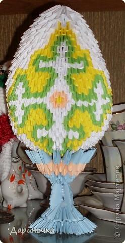 Пасхальное яйцо (модульное оригами) фото 3