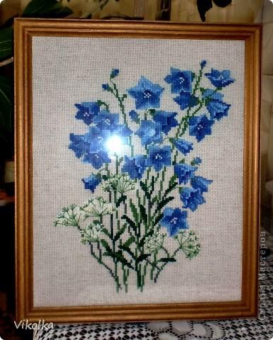 """Не знаю, почему, но цветы вышиваю редко. Это, практически, и все работы на цветочную тему. Картины  вышиты по наборам фирмы """"Риолис"""". """"Подсолнухи"""", нитки: шерсть, цветов: 15, размер: 40*40 см.     фото 2"""