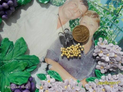 В апреле годовщина свадьбы родителей мужа решила сделать подарок, еще бутылочка в процессе. фото 3