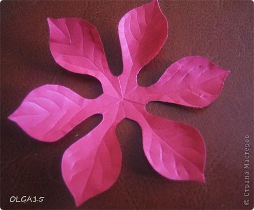 Фон выполнен на акварельной бумаге, цветы тоже подкрашены акварелью. фото 18