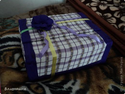 коробка для подарка фото 1