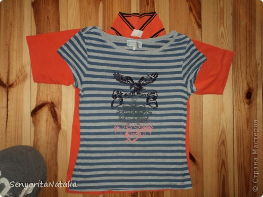 Переделка футболки фото 3