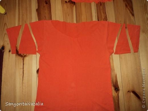 Переделка футболки фото 4