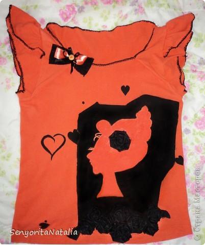 Переделка футболки фото 1
