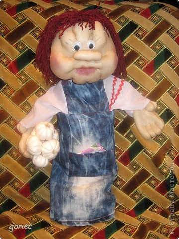 Кукла пакетница в подарок  фото 2