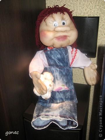 Кукла пакетница в подарок  фото 1