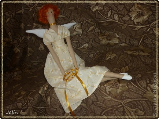 Ангел для девушки моего брата ) Весеннее настроение навеяло солнечную гамму и образ ) фото 8