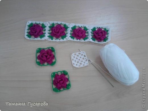 Первая моя сумочка для дочки. В процессе вязания пришла идея для изготовления сарафанчика и панамки. фото 3