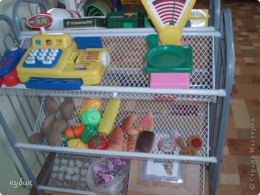 хочется, чтобы детям интересно было играть в магазин, а для этого нужно больше продуктов и вот как мы из этого вышли:))))))))))))) фото 1