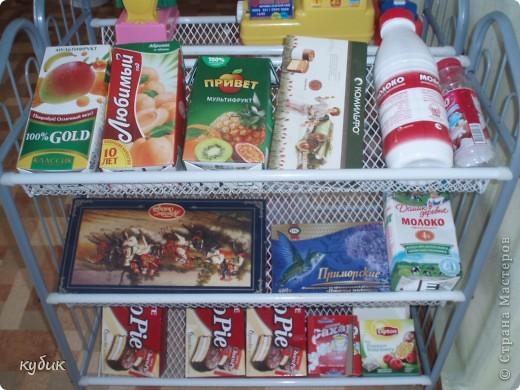 хочется, чтобы детям интересно было играть в магазин, а для этого нужно больше продуктов и вот как мы из этого вышли:))))))))))))) фото 7