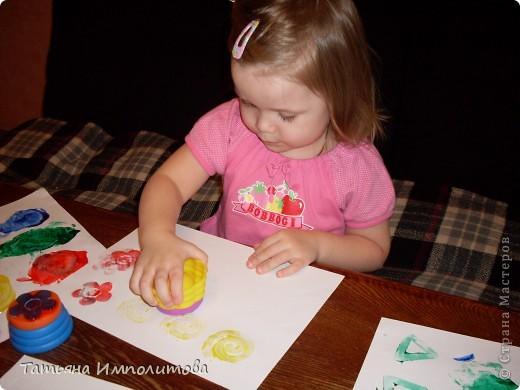 Обновили пальчиковые краски и штампики фото 1