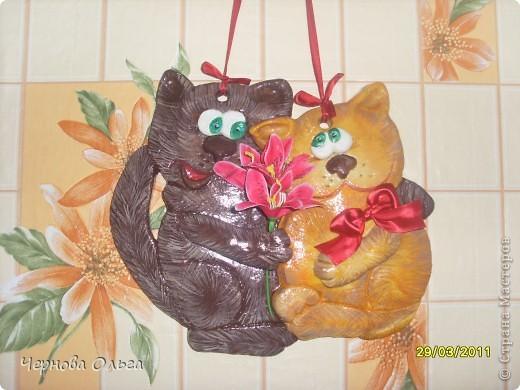парочка влюбленных котиков))))))) фото 2