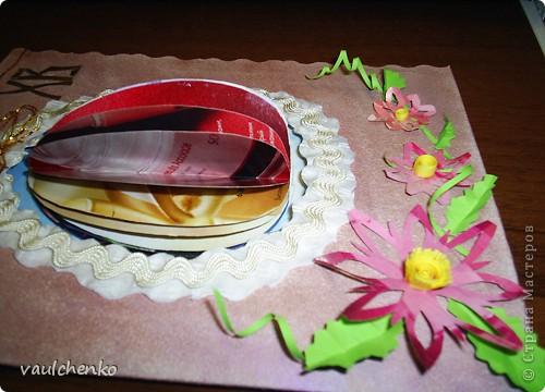 К Празднику Светлой Пасхи получилась открыточка! фото 4