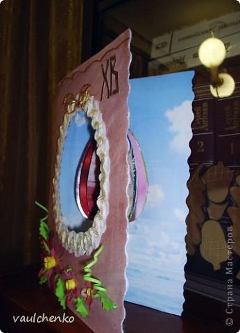 К Празднику Светлой Пасхи получилась открыточка! фото 2
