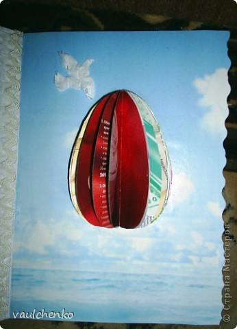 К Празднику Светлой Пасхи получилась открыточка! фото 8