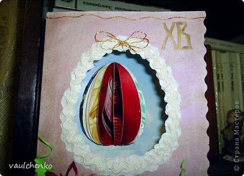 К Празднику Светлой Пасхи получилась открыточка! фото 6