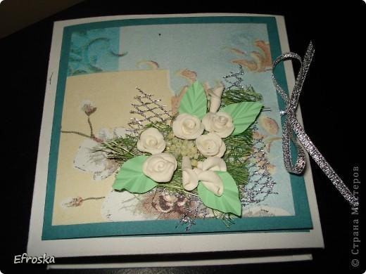 Эту коробочку делала на юбилей для любимого родственника. Мк по изготовлению самой коробочки здесь: http://mu-ha.blogspot.com/2009/09/blog-post_11.html фото 2