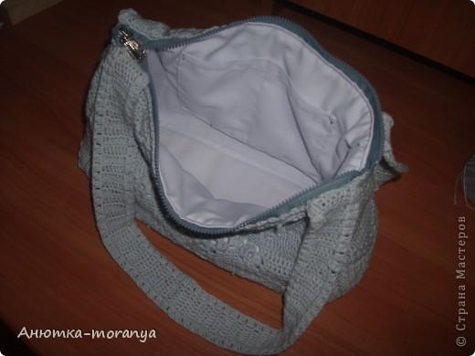 Ух! Думала не успею!  вот такая вот сумочка у меня получилась!  фото 7