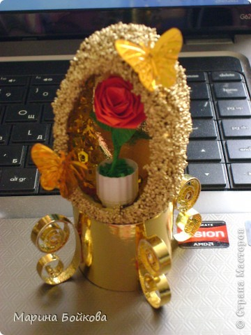 Золотое яичко фото 2