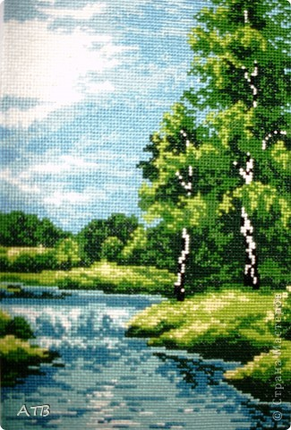 Лето у реки.