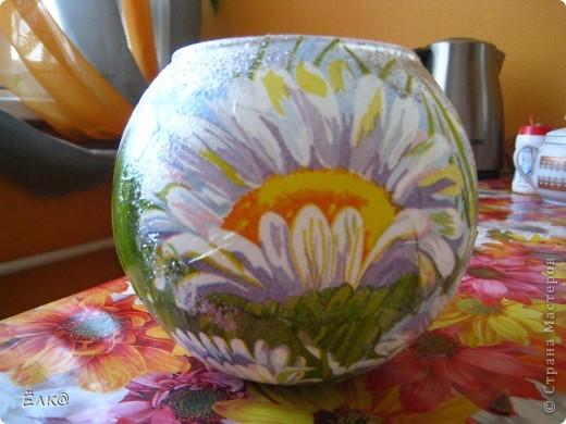 Ромашковая вазочка фото 1