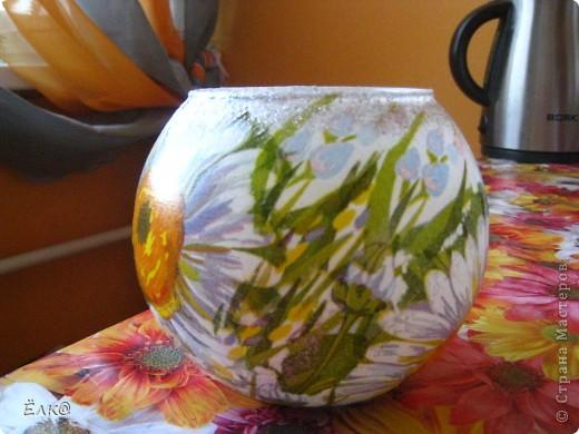 Ромашковая вазочка фото 3
