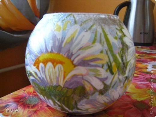 Ромашковая вазочка фото 4